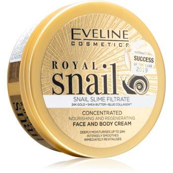 Eveline Cosmetics Royal Snail cremã intens hrãnitoare pentru fata si corp poza
