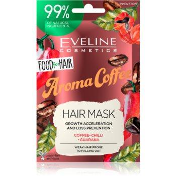 Eveline Cosmetics Food for Hair Aroma Coffee masca de întãrire pentru pãrul slab, cu tendin?a de a cãdea imagine