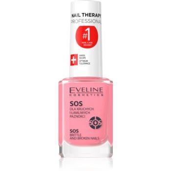 Eveline Cosmetics Nail Therapy balsam cu multivitamine cu calciu imagine produs