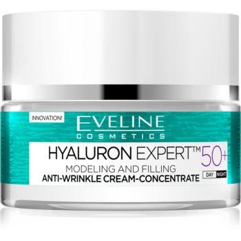 Eveline Cosmetics New Hyaluron crema tonifianta SPF 8