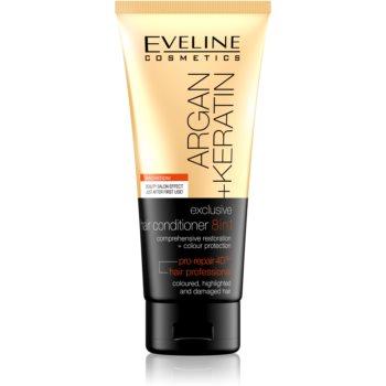 Eveline Cosmetics Argan + Keratin balsam 8 in 1 imagine produs