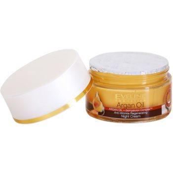Eveline Cosmetics Argan Oil nočna regeneracijska krema proti gubam 1