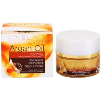 Eveline Cosmetics Argan Oil nočna regeneracijska krema proti gubam 3