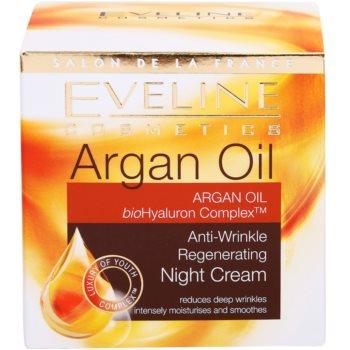 Eveline Cosmetics Argan Oil nočna regeneracijska krema proti gubam 4