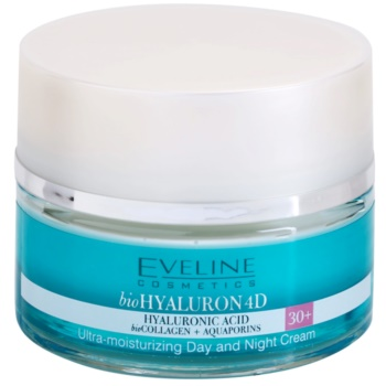 Fotografie EVELINE BIO Hyaluron 4D day+night cream 30+ - 50ml