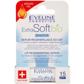 Eveline Cosmetics Extra Soft Bio відновлююча сироватка для губ