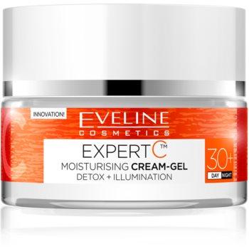Eveline Cosmetics Expert C Cremă hidratantă Gel pentru zi și noapte 30+