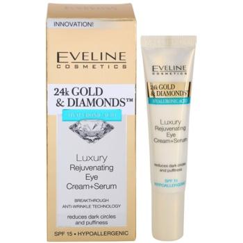 Eveline Cosmetics 24k Gold & Diamonds verjüngende Augencreme 2