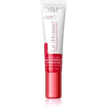 Eveline Cosmetics Lift Hybrid cremă antirid pentru zona din jurul ochilor și pentru pleoape SPF 8