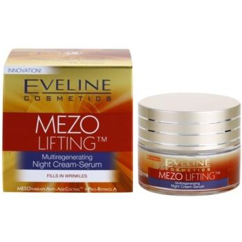 Eveline Cosmetics Mezo Lifting multiregenerujący krem-serum na noc 2
