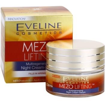 Eveline Cosmetics Mezo Lifting multiregenerujący krem-serum na noc 3