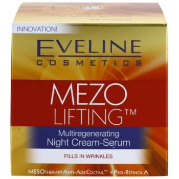 Eveline Cosmetics Mezo Lifting multiregenerujący krem-serum na noc 4