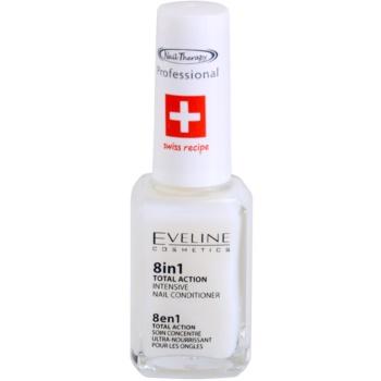 Eveline Cosmetics Nail Therapy balsam pentru unghii 8 in 1  12 ml