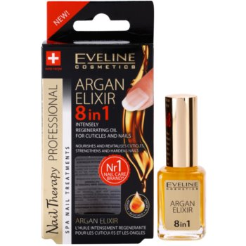 Eveline Cosmetics Nail Therapy регенериращ еликсир за нокти и кожичките около ноктите 2