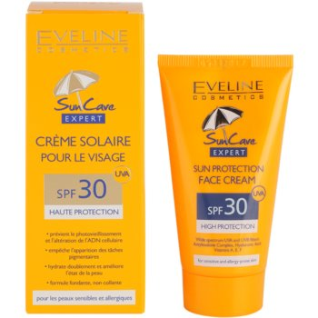 Eveline Cosmetics Sun Care слънцезащитен крем за лице SPF 30 2