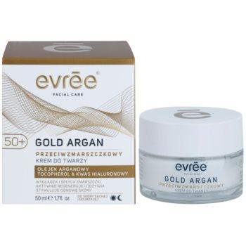Evrée Gold Argan creme antirrugas 50+ 1