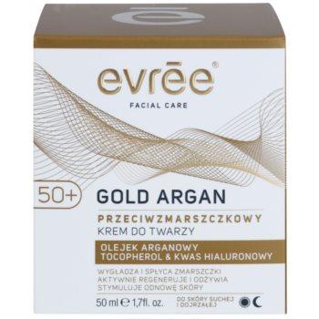 Evrée Gold Argan creme antirrugas 50+ 2