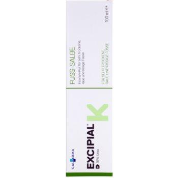 Excipial K Foot интензивна грижа за много сухи и напукани крака 2