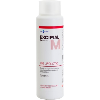 Fotografie Excipial M U10 Lipolotion výživné tělové mléko pro suchou a podrážděnou pokožku 500 ml