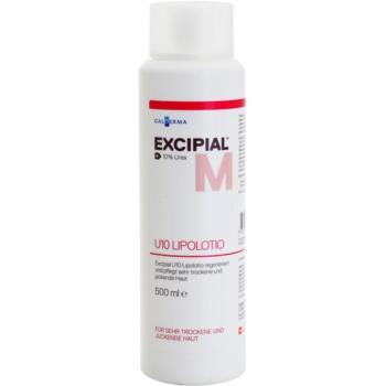 Excipial M U10 Lipolotion výživné telové mlieko pre suchú a podráždenú pokožku