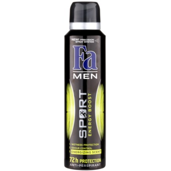 Fa Men Sport Energy Boost antiperspirant Spray