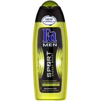 Fa Men Sport Energy Boost gel de dus pentru față, corp și păr