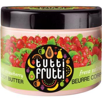 Farmona Tutti Frutti Wild Strawberry Unt de corp catifelat
