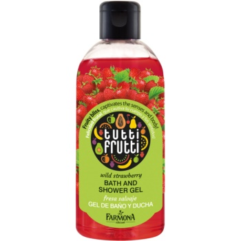 Farmona Tutti Frutti Wild Strawberry gel de dus si baie imagine produs