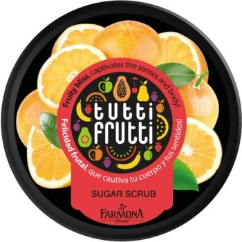Farmona Tutti Frutti Grapefruit peeling corporal cu zahar