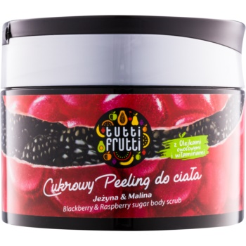 Farmona Tutti Frutti Blackberry & Raspberry exfoliant de corp cu zahăr