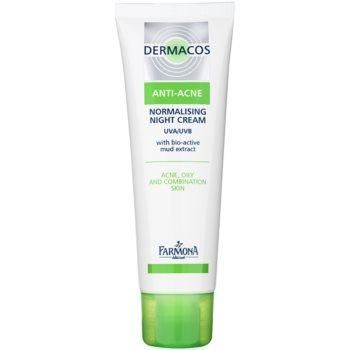 Farmona Dermacos Anti-Acne crema de noapte pentru reglarea glandelor sebacee
