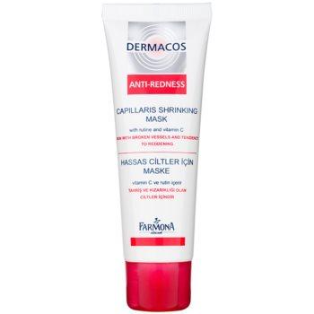 Farmona Dermacos Anti-Redness krepilna maska za obraz proti pokanju drobnih žilic