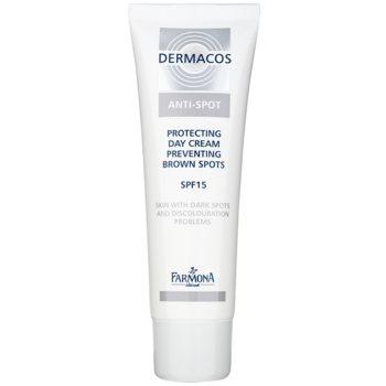 Farmona Dermacos Anti-Spot cremă protectoare de zi pentru a preveni petele pigmentare SPF 15