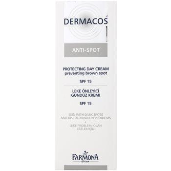 Farmona Dermacos Anti-Spot cremă protectoare de zi pentru a preveni petele pigmentare SPF 15 2