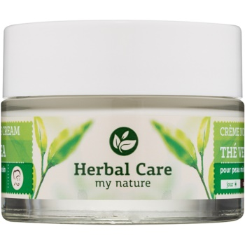 Farmona Herbal Care Green Tea Crema de zi si noapte cu efect de matifiere si uniformizarea pielii pentru ten mixt si gras  50 ml