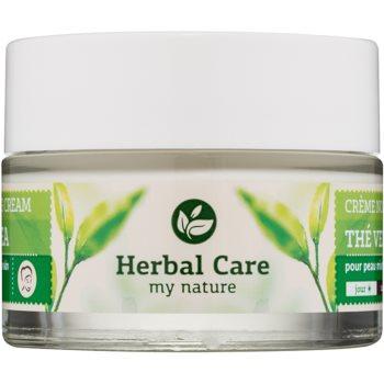 Farmona Herbal Care Green Tea Crema de zi si noapte cu efect de matifiere si uniformizarea pielii pentru ten mixt si gras
