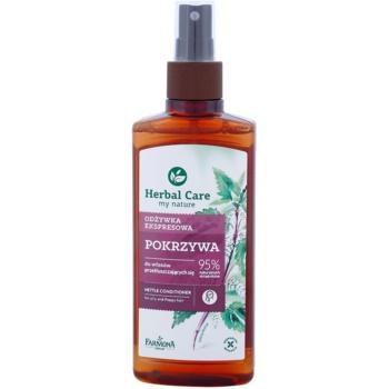 Farmona Herbal Care Nettle conditioner Spray Leave-in pentru par si scalp gras