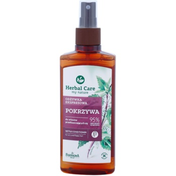Farmona Herbal Care Nettle conditioner Spray Leave-in pentru par si scalp gras