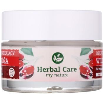 Farmona Herbal Care Wild Rose stärkende Krem mit Antifalten-Effekt