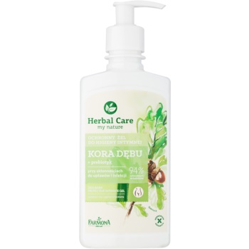 Farmona Herbal Care Oak Bark gel protector pentru igiena intima