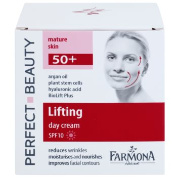 Farmona Perfect Beauty 50+ liftingujący krem na dzień SPF 10 2