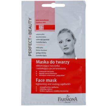 Farmona Perfect Beauty Capillary Skin maska za obraz za razpokane in razširjene žilice