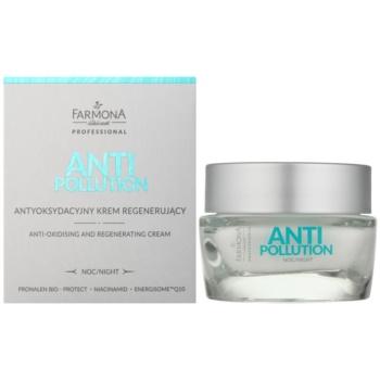 Farmona Anti Pollution Crema de noapte anti-oxidanta efect regenerator 1