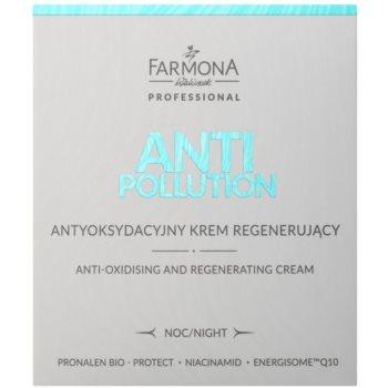 Farmona Anti Pollution Crema de noapte anti-oxidanta efect regenerator 2