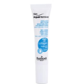 Farmona Skin Aqua Intensive hidratare și strălucire pentru pleoape și pungile de sub ochi
