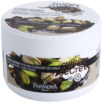 Farmona Sweet Secret Chocolate peeling cukrowy do ciała