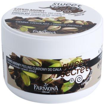 Farmona Sweet Secret Chocolate цукровий пілінг для тіла