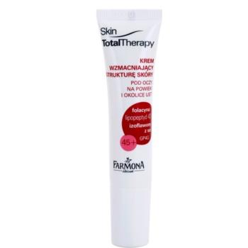 Farmona Skin Total Therapy Crema fermitate pentru riduri adanci din jurul ochilor si a buzelor