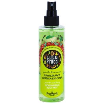 Farmona Tutti Frutti Pear & Cranberry meglica za telo z vlažilnim učinkom 1