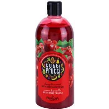Farmona Tutti Frutti Cherry & Currant gel de dus si baie  500 ml